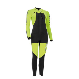 Head Swimrun Rough 4.3.2 Wetsuit Ladies Yellow/Black